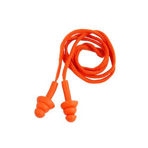 Protetor Auricular Protect Plug de Silicone Cordão 15db - 50 Pares