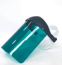 Protetor Facial Plastcor Verde 8 Polegadas