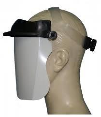 Protetor Facial Transparente Com Catraca Uso Hospitalar