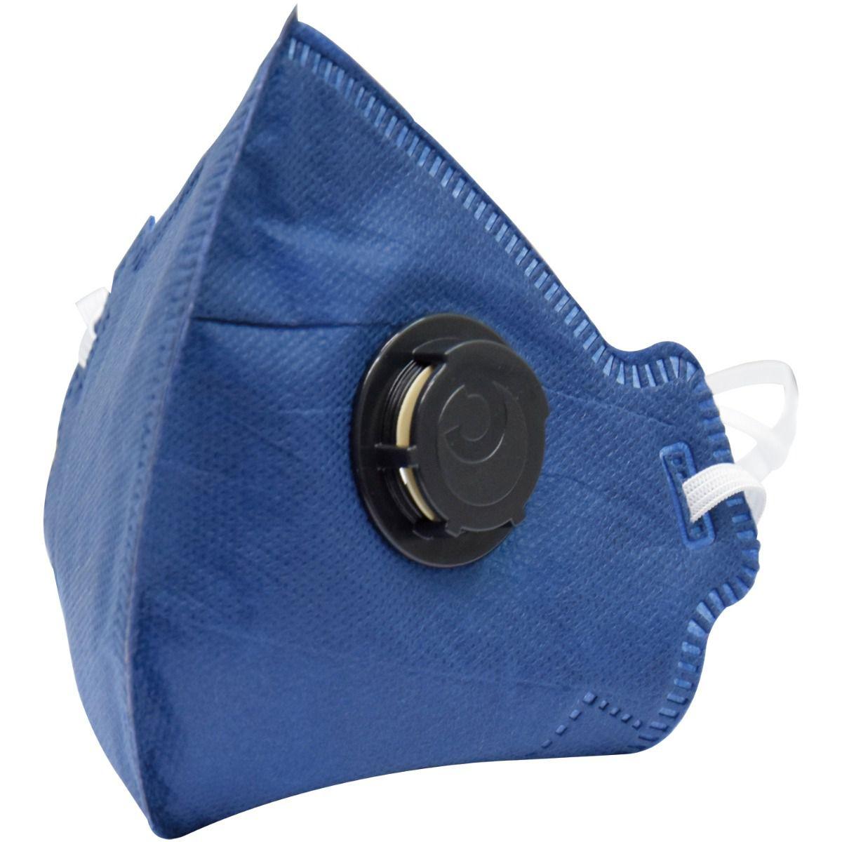 Respirador Descartável Camper Pff2 Com Válvula - 20 Unid.