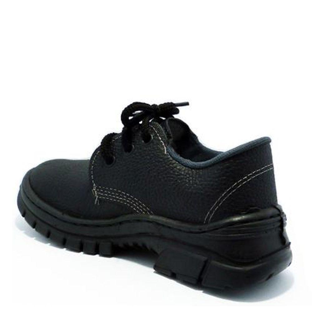 Sapato Amarrar Imbiseg Monodensidade Sem Bico Preto