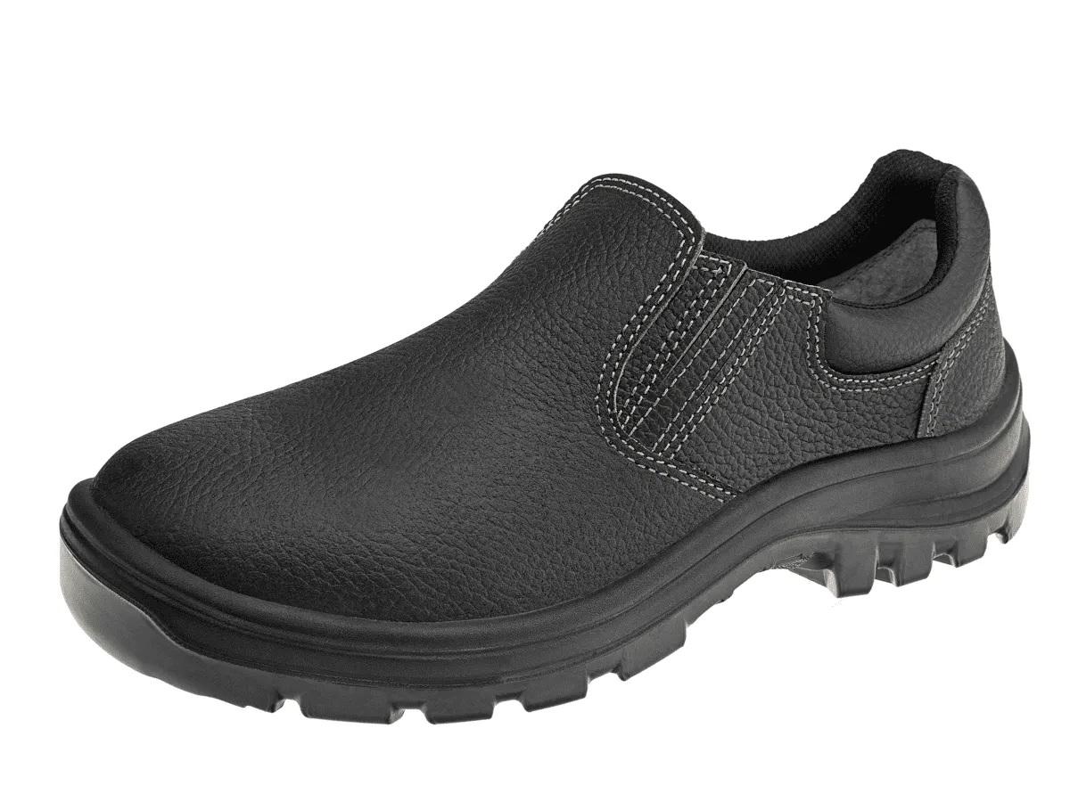 Sapato Elástico Marluvas Vulcaflex Bico de Aço Preto