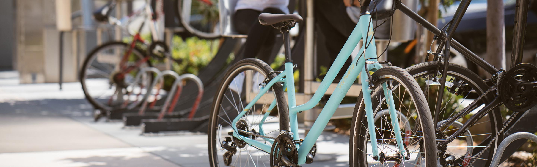 Bicicleta fitness Mulher