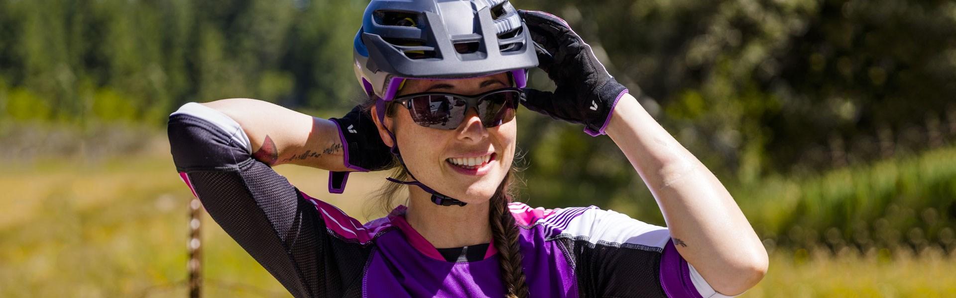 Vestuario de ciclismo mulher