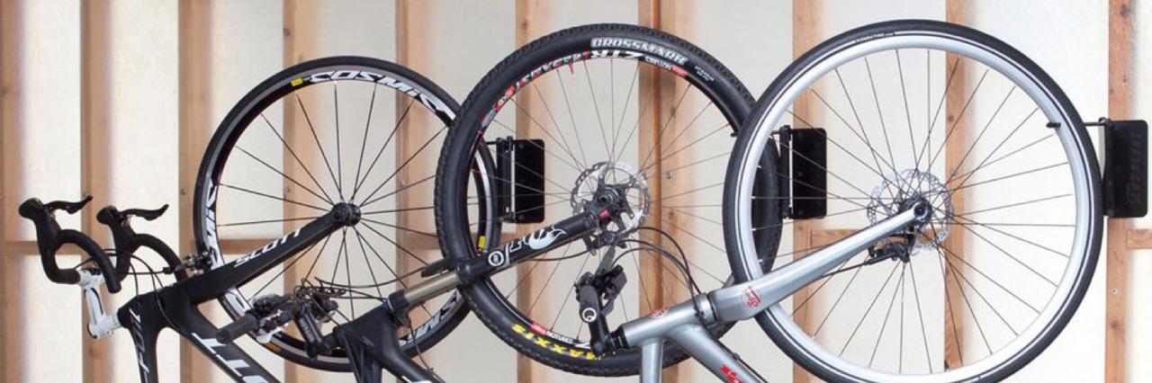 bicicletario e suporte