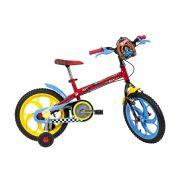 Bicicleta Caloi Hot Wheels - Aro 16 - Freio Cantilever - Infantil
