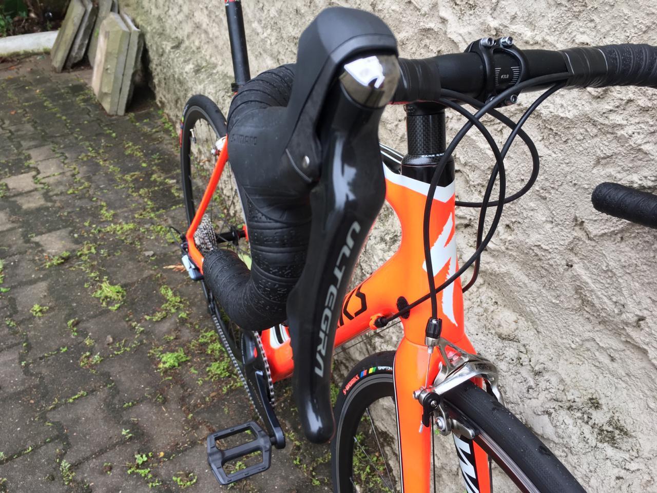 Bicicleta Specialized Tarmac S-Works Vermelho 54 (2012)