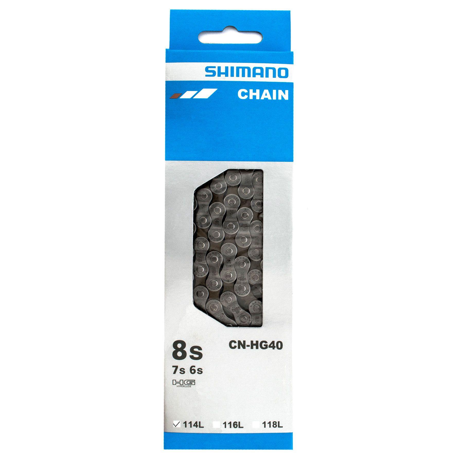Corrente Shimano 6/7/8V CN-HG40