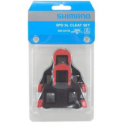 Taco Pedal Shimano SPD SM-SH10 0 graus Vermelho