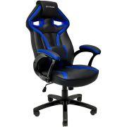 Cadeira Gamer Mymax MX1 Giratória Preto/Azul