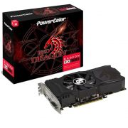 Placa de Vídeo PowerColor Radeon RX 550 Red Dragon AXRX 550 4GB GDDR5