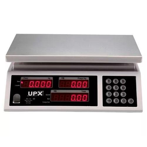 Balança Computadora UPX EA-15 15Kg Com Bateria  - Líder Brasil Informática