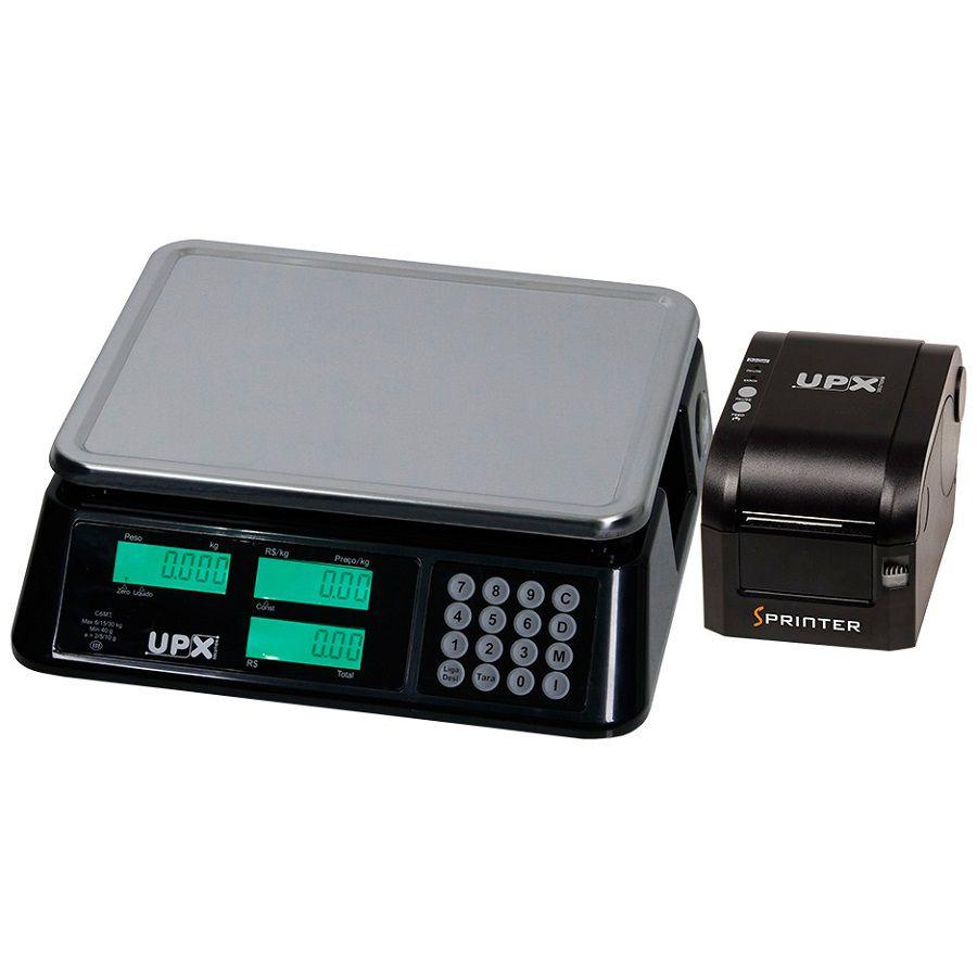 Balança + Impressora Upx Combo Ethernet  - Líder Brasil Informática
