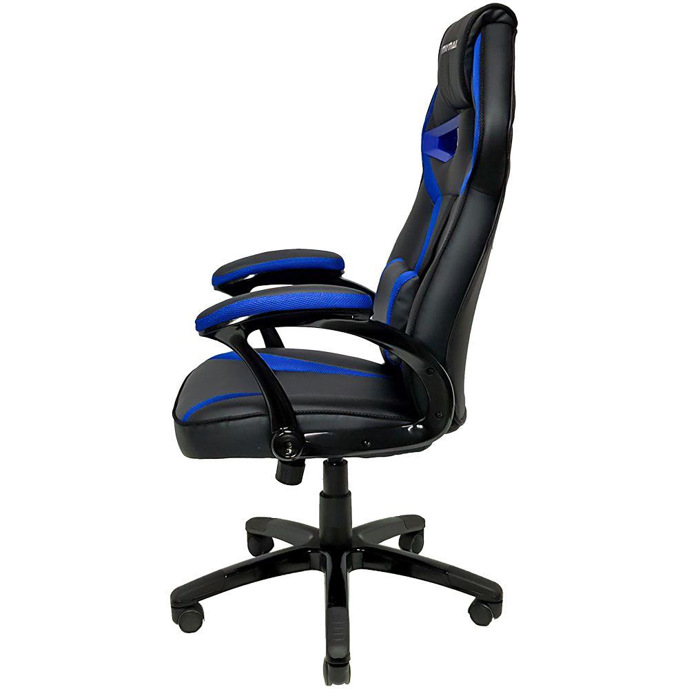 Cadeira Gamer Mymax MX1 Giratória Preto/Azul  - Líder Brasil Informática