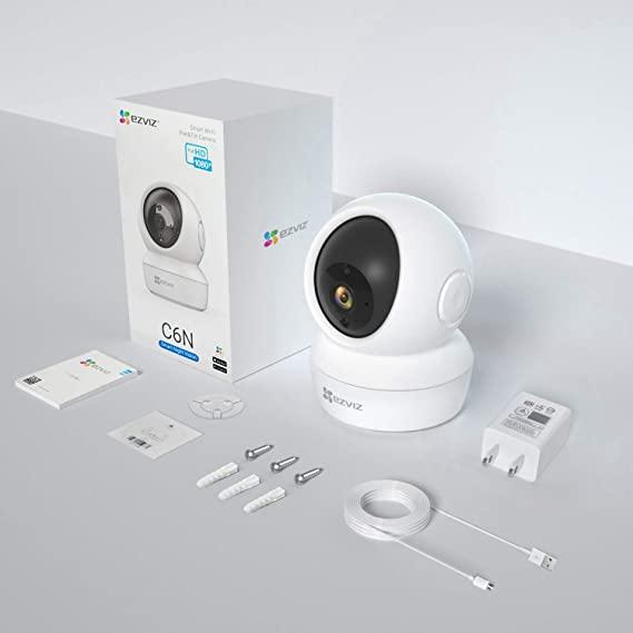 Câmera Hikvision Ip Ezviz Wi-fi Cs-c6n-a0-1c2wfr Ir 10m New  - Mega Líder Distribuidora