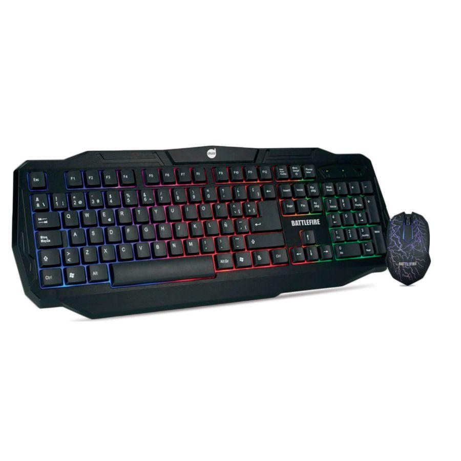 Combo Dazz Battlefire Teclado e Mouse Gamer  - Líder Brasil Informática