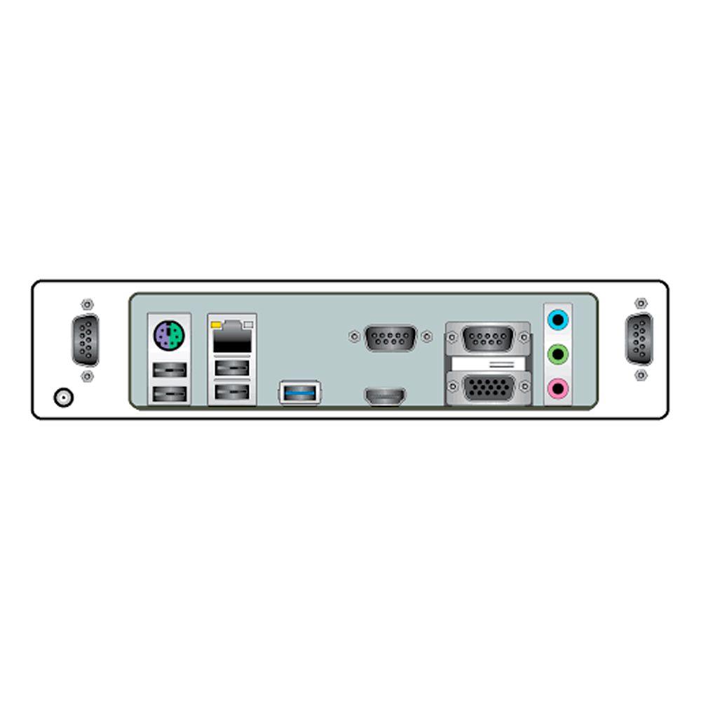Computador Bematech RC8400 4GB 4 Seriais Windows  - Líder Brasil Informática