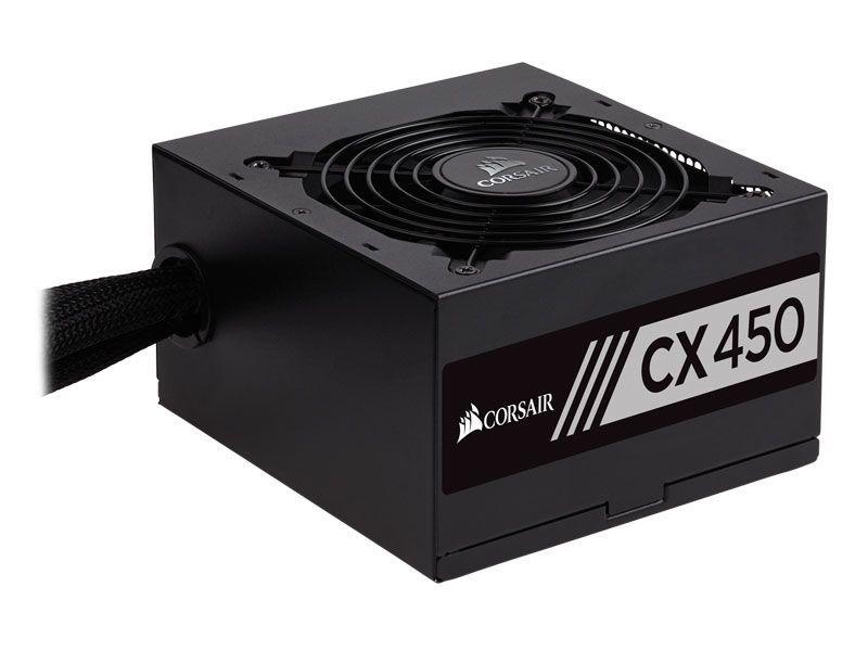 Fonte Corsair CX450W ATX 80 Plus Bronze  - Líder Brasil Informática