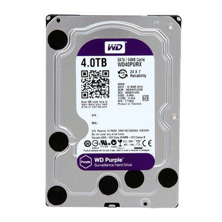 HD Interno Western Digital WD Purple 4TB Sata III 6GB/s 5400RPM  - Líder Brasil Informática