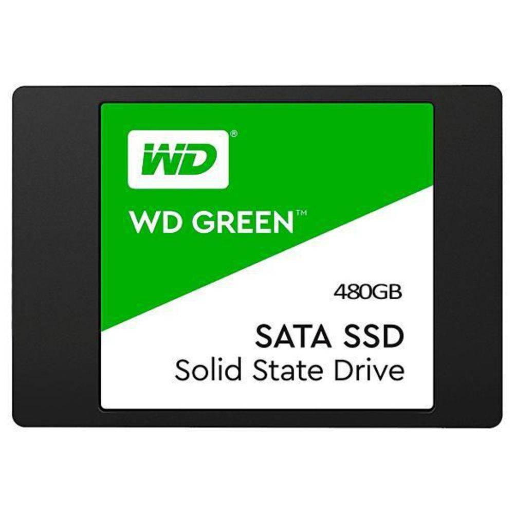 HD SSD Western Digital Green 480GB Sata III  - Líder Brasil Informática