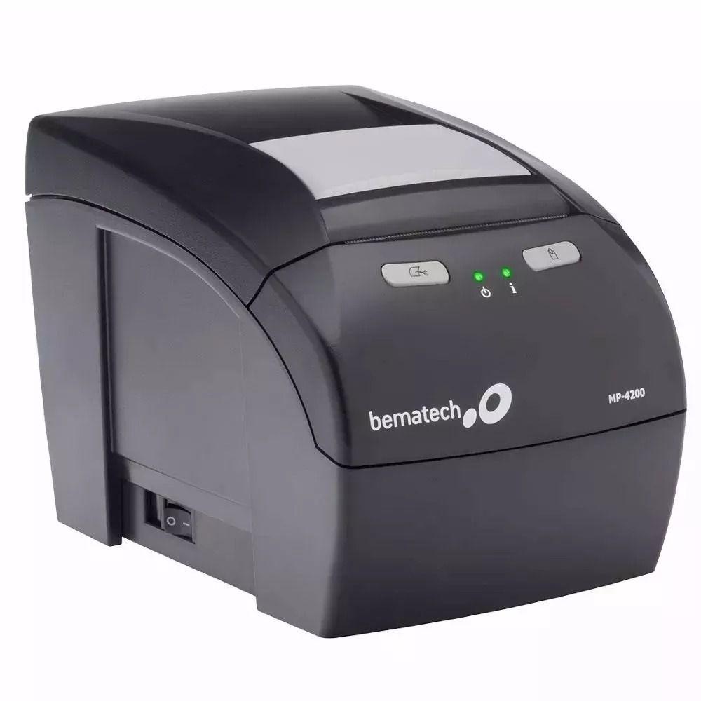 Impressora Não Fiscal Térmica Bematech MP-4200 USB  - Líder Brasil Informática