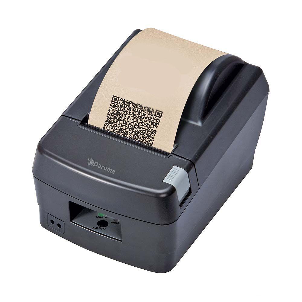 Impressora Não Fiscal Térmica Daruma DR 800 Serrilha  - Líder Brasil Informática