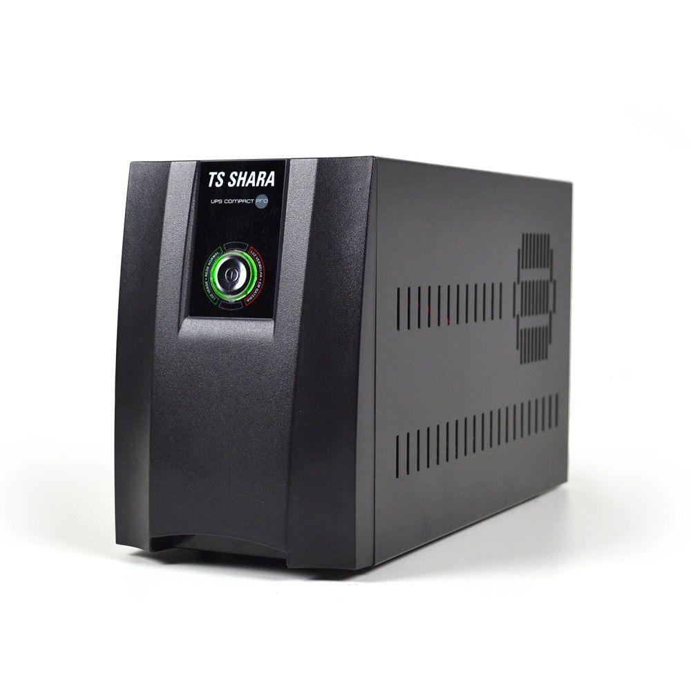 Nobreak TS Shara UPS Compact Pro 1200VA mono 115V  - Líder Brasil Informática
