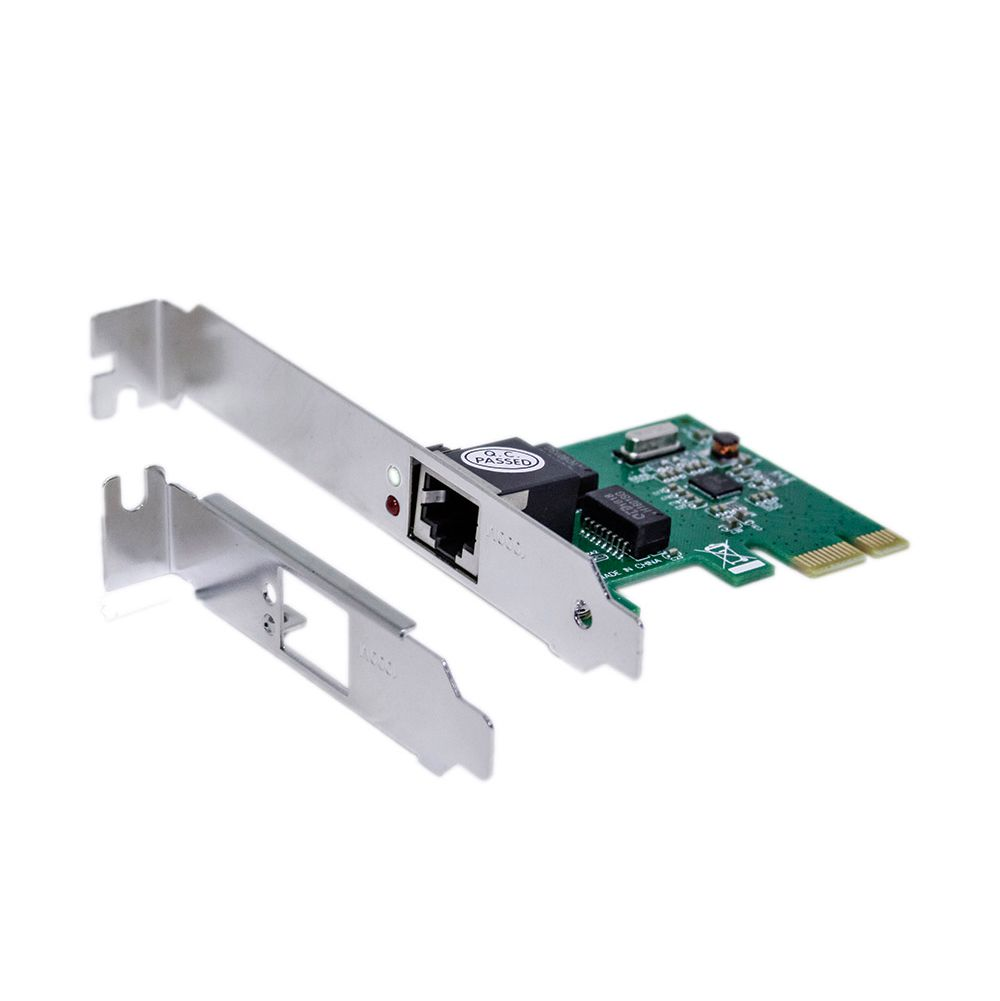 Placa de Rede Mymax PCI Express Gigabit 10/100/1000Mbps  - Líder Brasil Informática