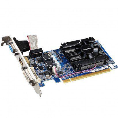 Placa de Vídeo Gigabyte VGA NVIDIA GeForce GT 210 1GB  - Líder Brasil Informática
