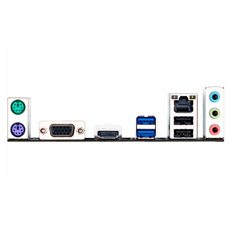 Placa Mãe Gigabyte Intel LGA 1151 mATX GA-H110M-H  - Líder Brasil Informática
