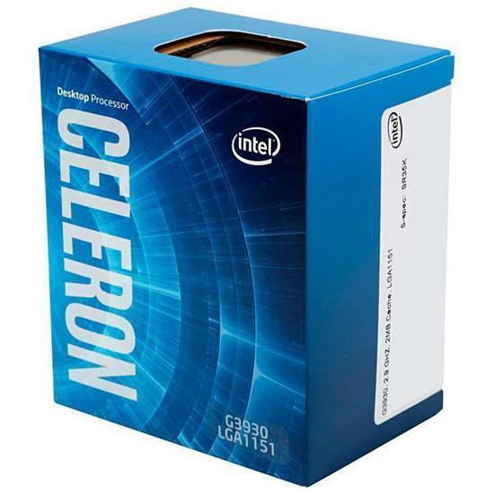 Processador Intel Celeron Dual Core G3930 2.9Ghz  - Mega Líder Informatica