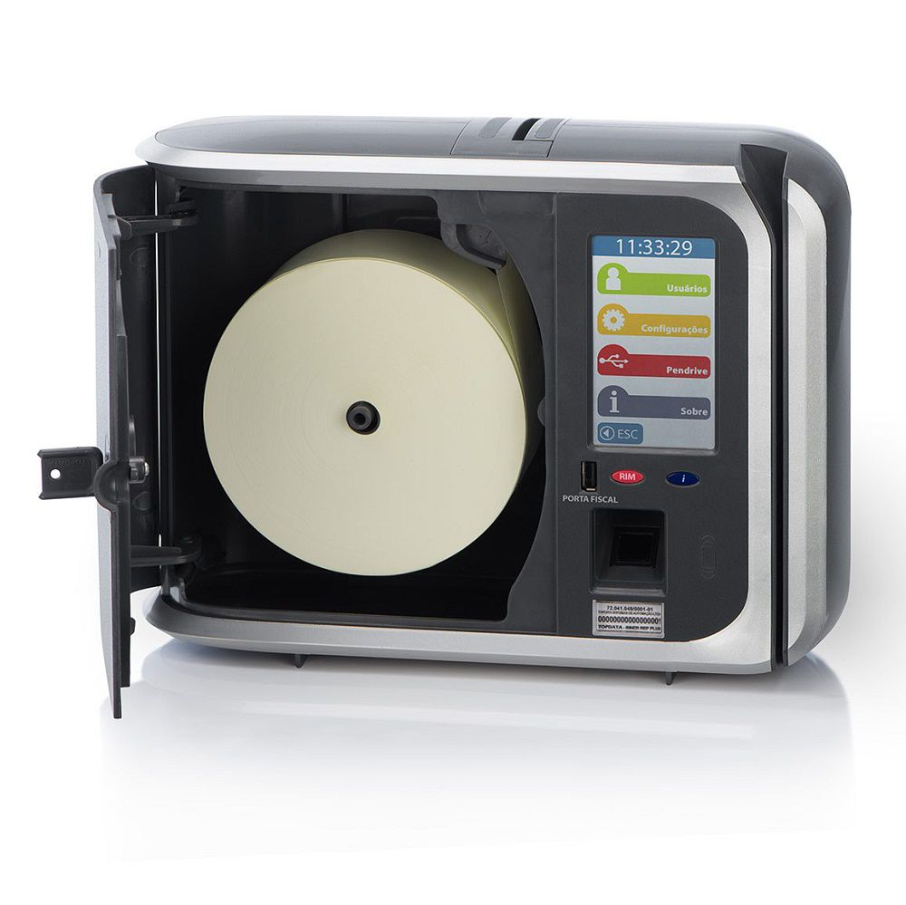 Relógio de Ponto Biométrico Topdata Inner Rep Plus  - Líder Brasil Informática