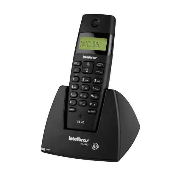 Telefone Intelbras Ramal Sem Fio TS40R  - Líder Brasil Informática
