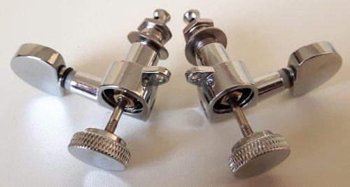 Tarraxas Com Trava Sistema Lock 3R3L Prata cromada