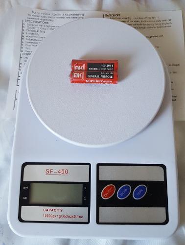 Balança Digital Cozinha Até 10 Kg