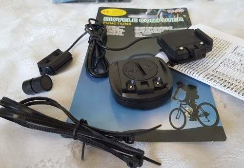 Computador De Bordo Velocímetro Para Bicicleta Resistente à Água com 15 funções