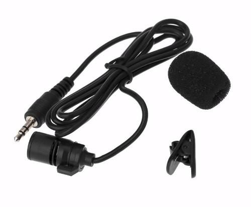 Microfone Lapela conexão P2 - 3,5mm Para Notebook PC ou gravador