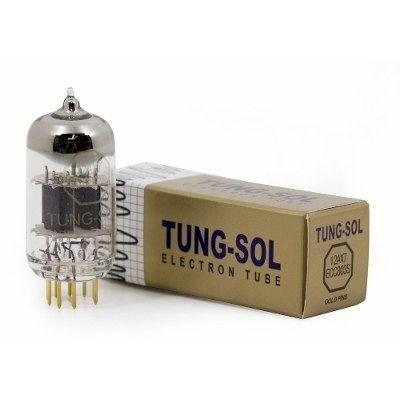 Válvula TungSol 12AX7 ECC803s ECC83s Gold Pin (Pinos banhados à Ouro)