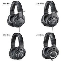 Espumas Para Fone Headset Audio Technica Ath M40x M50x M20 M30 M40