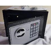 Cofre Eletrônico Com Teclado Senha e chave OSD170