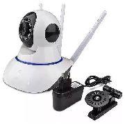 Câmera IP Infravermelho 3 Antenas Visão Noturna WiFi