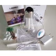 Umidificador de ar portátil USB tipo lâmpada