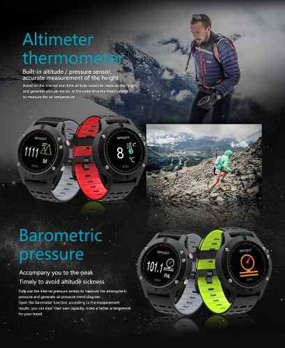Relógio GPS Corrida MultiSport Smartwatch No1 - F5