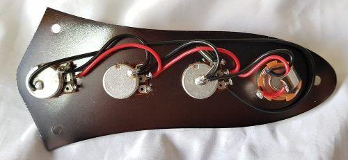 Placa De Controle Baixo Fender Jazz Bass Completo