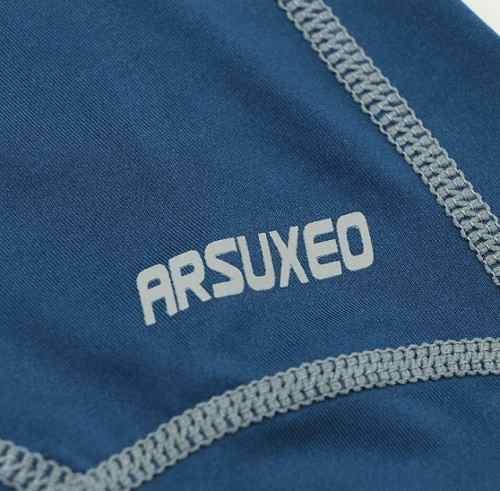 Calça Compressão Corrida Musculação Térmica ARSUXEO Masculina