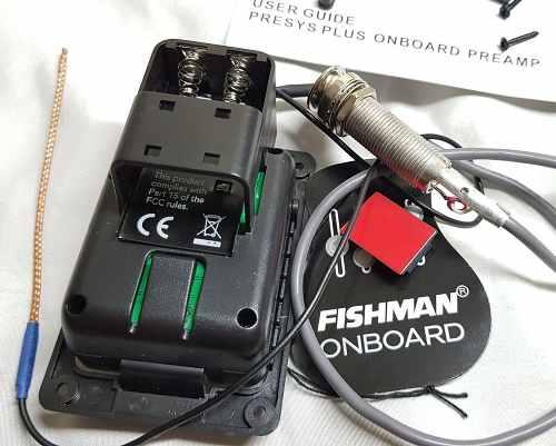 Captador Fishman Modelo Presys PLUS 201 OEM-PSY-201 ( Não possui microfone )