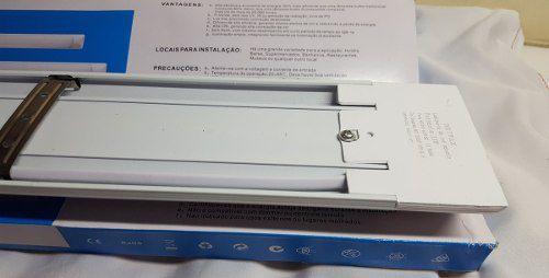 Luminária Led Econômica Ótima Luminosidade Luz Branca 60cm