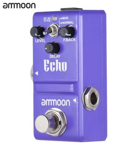 Pedal de Efeito Ammoon Delay Echo modelo nano