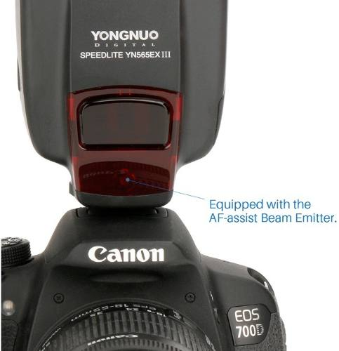 Flash YongNuo SpeedLite YN565ex versão III com função TTL Para CANON