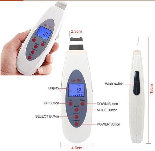 Aparelho de Peeling Ultrasonico com Tela LCD